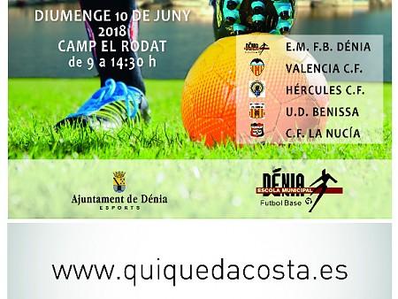 """Diumenge sis equips es disputaran el Torneig de Cadets """"Ciutat de Dénia"""""""