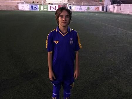 Cesc Vives ha entrenado con la selección valenciana sub-12 de Alicante