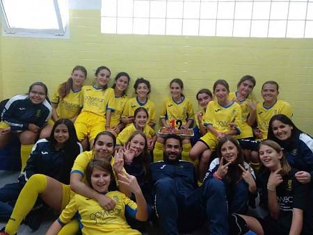 Lliga femenina infantil-cadet G-IV: CF Femenino Estrellas de Alicante 2-5 Futbol Base Dénia