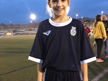 Marta Llorca entrena con la Selección Femenina Sub-12