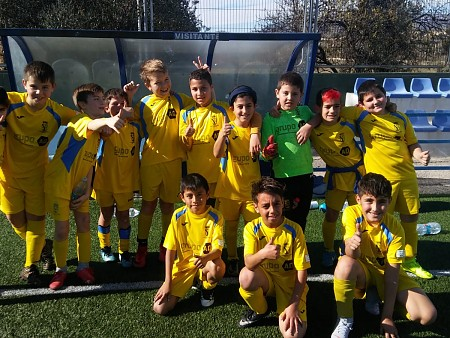Liga benjamín: At Jonense A 0 - 3 EM Futbol Base Dénia C