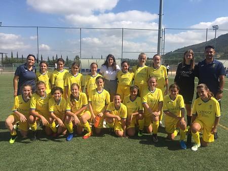 Partit trepidant en el Rodat pel femení a la recerca de la tercera posició del grup A d'Alacant.